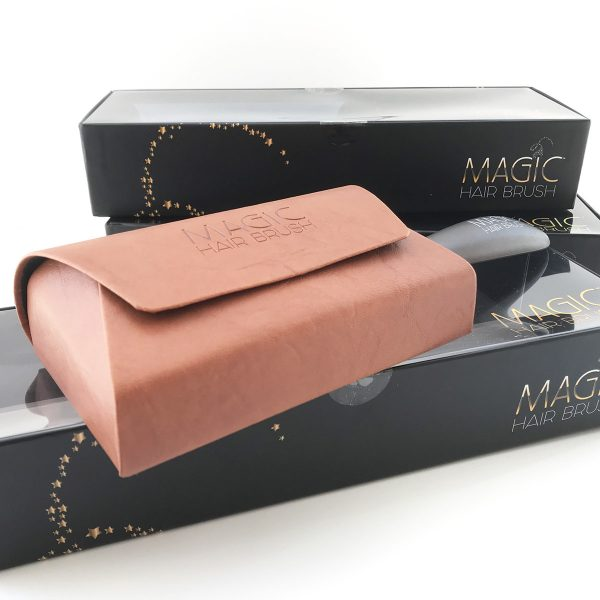 magic hair brush brand design
