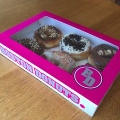 donut box design