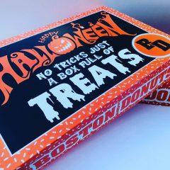 halloween cake box design
