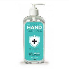 hand sanitiser label design