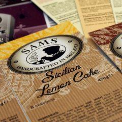 cake label design