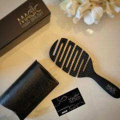 hair brush packaging design